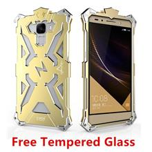 Huawei Honor 7 4C Aluminium Thor Case Cover Casing + Tempered Glass