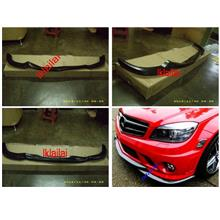 Mercedes Benz C-Class W204 `07 AMG C63 Style Front Lip [PU]