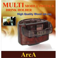 ARCA DR-006 Air Cond 2 In 1 Hand Phone & Drink Holder Made In Japan