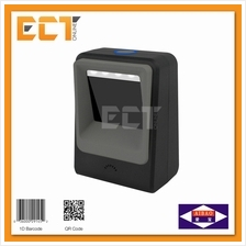 Aibao PT-6850 QR Code Barcode Two Demensional Table Scanner - Black