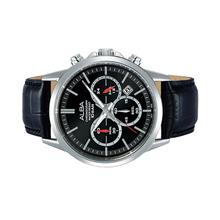 Alba Men Chronograph Leather Watch VD53-X284BSL
