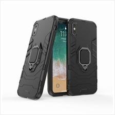 4 in 1 oppo A3s F9 Magnetic Ring Car Holder Armor Back Case Cover