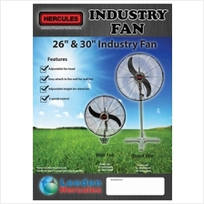Heavy Duty High Power Industrial WALL Fan 26 inch 30 inch