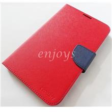 ORI MERCURY Fancy Diary Case Samsung Galaxy Tab 3 V T116 T111 ~RED