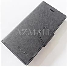 MERCURY Fancy Diary Stand Case Flip Book Cover Oppo A71 (5.2) ~BLACK