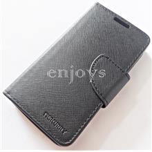 MERCURY Fancy Diary Case Samsung Galaxy S2 I9100 I9105 ~BLACK *XPD