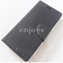 Mercury CANVAS Diary Case Cover Samsung Galaxy Note FE /N935F BLK *XPD