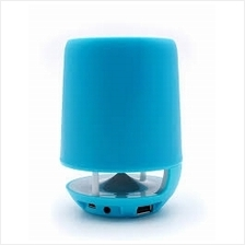 ITWAY PORTABLE BRUSH POT WITH DESK LAMP (E-304B) SPEAKER