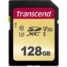 TRANSCEND 128GB SD HC10 500S UHS-1 U1 4K (95MB/60MB) MEMORY CARD (TS128GSDC500
