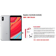 Redmi S2 (4GB + 64GB) *FREE MICRO USB CABLE RM89