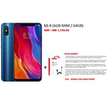 Mi 8 (6GB RAM / 64GB) *FREE MICRO USB CABLE WORTH RM89