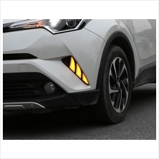Toyota CHR C-HR DAYLIGHT Fog Lamp Light Sticker Body Kits Bumpers