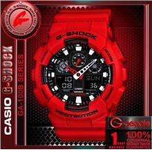 CASIO G-SHOCK GA-100B-4A ANALOG DIGITAL WATCH ☑ORIGINAL☑