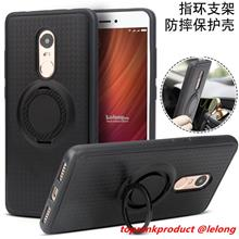 Xiaomi Redmi Note 4 / 4X Magnet Silicone Ring Stand Case Cover Casing