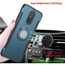 Huawei Nova 2i Magnetic 360 Stand Back Armor Case Cover Casing