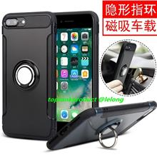 iPhone X 5 5S SE 6 6S 7 8 Plus Magnetic Ring Stand Case Cover Casing