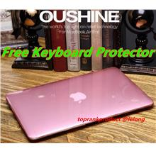 MacBook Air 11.6 12 13.3 15 Pro Crystal Case Cover Casing + Free Gifts