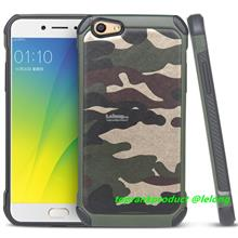 OPPO F3 A77 Camouflage ShakeProof Armor Back Case Cover Casing
