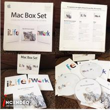 **incendeo** - Original APPLE Mac Box Set MacOS iLife iWork Software P