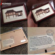 **incendeo** - ARCH Traditional Malay House Handcrafted Frame