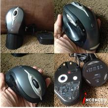 **incendeo** - LOGITECH Bluetooth Desktop MX™ 5000 Laser Mouse