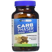 [Free shipping]Biochem Carb Phaser 1000, 120 Vegetarian Capsules