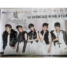 OFFICIAL THE B.O.S.S. THE BOYS OF SUPER SPACE POSTER MALAYSIA NEW