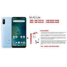 Mi A2 Lite 4GB RAM 64GB RAM *FREE MICRO USB CABLE WORTH RM89