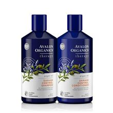 AVALON ORGANICS DAMAGE CONTROL SHAMPOO CONDITIONER WITH ARGAN OIL