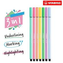 STABILO Pen 68 Marking Highlighter in NEON and Pastel colours)