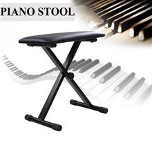 Portable Piano Keyboard Music Folding Padded Stool Chair Bench