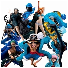 One Piece 20th Anniversary Nami Luffy Sanji Robin Chooper Blue
