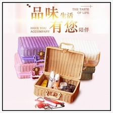 Suitcase Real Rattan Box