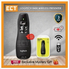 Logitech R400 Wireless Presenter - Black