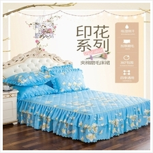 1 Pc Cotton Bed Skirt Bedspreads Mattress Covers Bed Sheets Queen Size