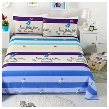 Three-piece Set Bed Sheet With 2 Pillowcase Queen Size
