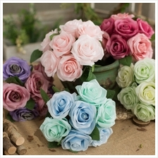 Simulation Rose Bouquet Fake Flower Wedding Decoration