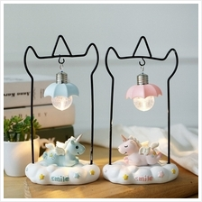 Ins Cartoon Unicorn Night Light Ornaments Creative Table Lamp