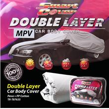 Smart Cover Double Layer Car Body Cover - MPV 100% Waterproof