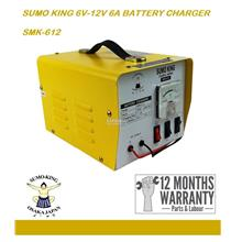 Sumo King 6V-12V 6A Automotive Battery Charger
