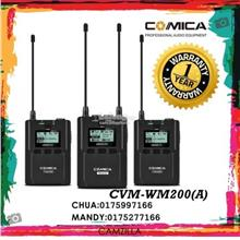 COMICA UHF WIRELESS MICROPHONE CVM-WM200(A)