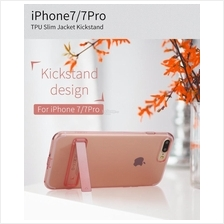 ROCK Ultrathin Tpu Slim Jacket Kickstand Case Cover iPhone 7 7 Plus
