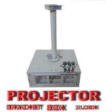 PROJECTOR BOX BRACKET WITH 2 LOCK