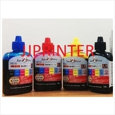 Premium HP CISS Refill Ink CMYK 1 Set ( 100ML/Bottle )
