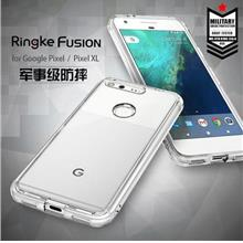 RingKe Silicone Casing Case Cover for Google Pixel XL & Pixel