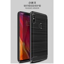 Anti Fingerprint Case Xiaomi 8 Cover Rugged Armor Casing