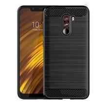 Anti Fingerprint Case Xiaomi Pocophone F1 Cover Rugged Armor Casing