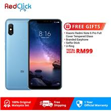 Xiaomi Redmi Note 6 Pro (4GB/64GB) + 4 Free Gift Worth RM109