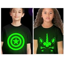 special and nice t shirt - grow in dark