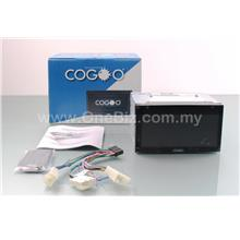 Cogoo 6.95 inch USB SD BT Car Universal DVD Player CG-21